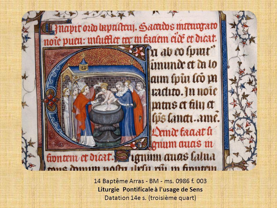 Liturgie Pontificale à l usage de Sens
