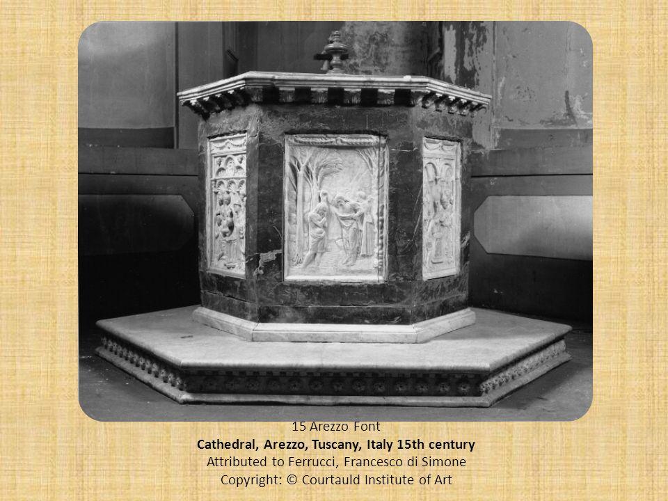Cathedral, Arezzo, Tuscany, Italy 15th century