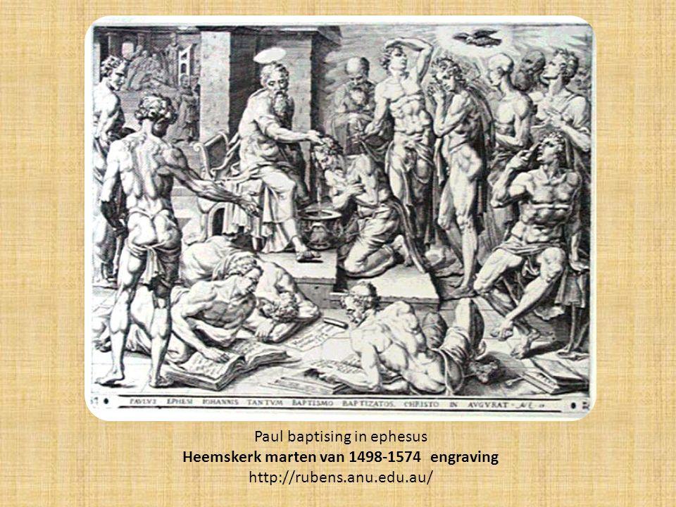 Heemskerk marten van 1498-1574 engraving