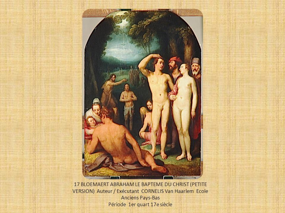 Période 1er quart 17e siècle