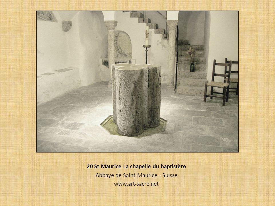 20 St Maurice La chapelle du baptistère