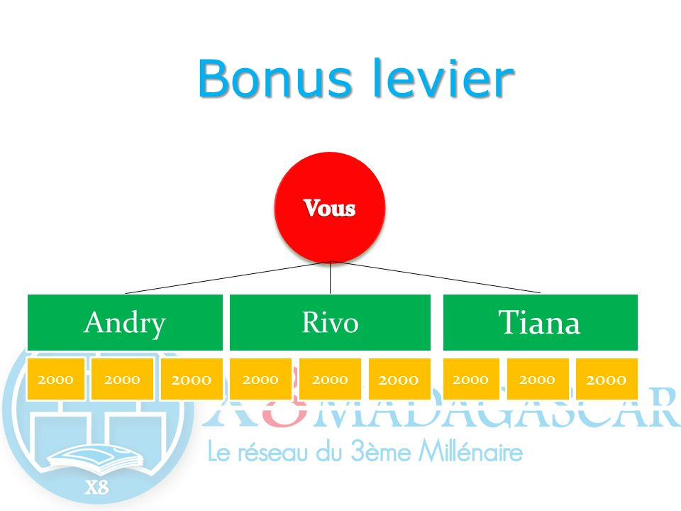 Bonus levier Tiana Andry Rivo Vous 2000 2000 2000 2000 2000 2000 2000