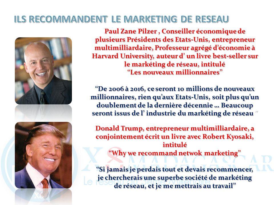ILS RECOMMANDENT LE MARKETING DE RESEAU