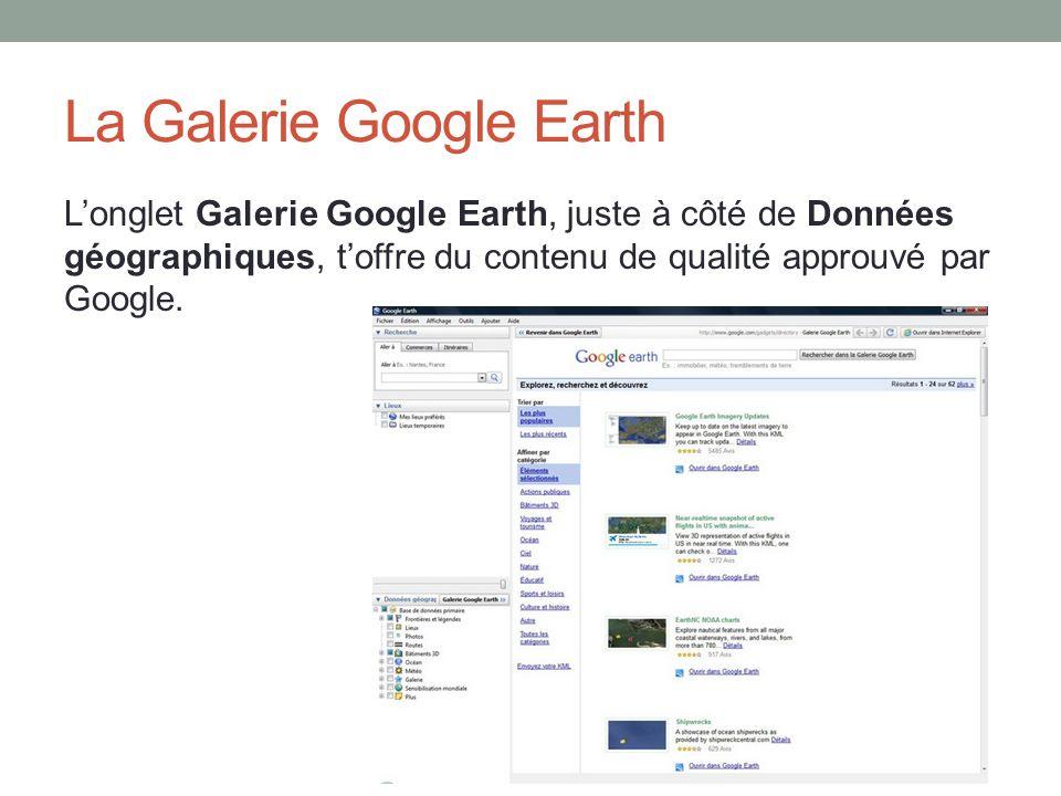 La Galerie Google Earth
