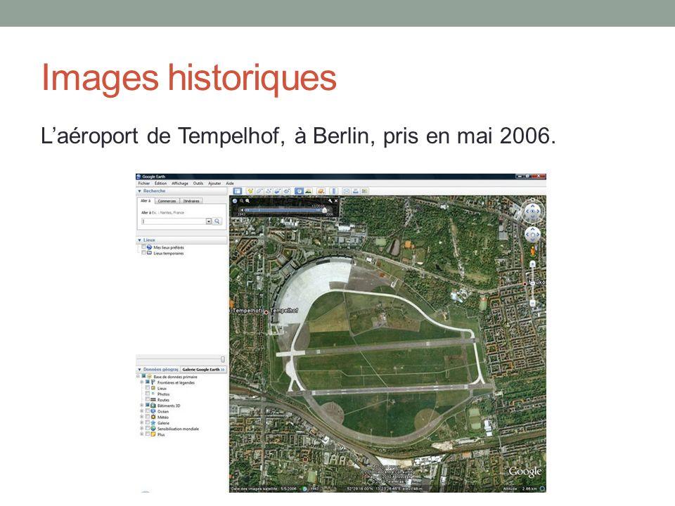 Images historiques L'aéroport de Tempelhof, à Berlin, pris en mai 2006.