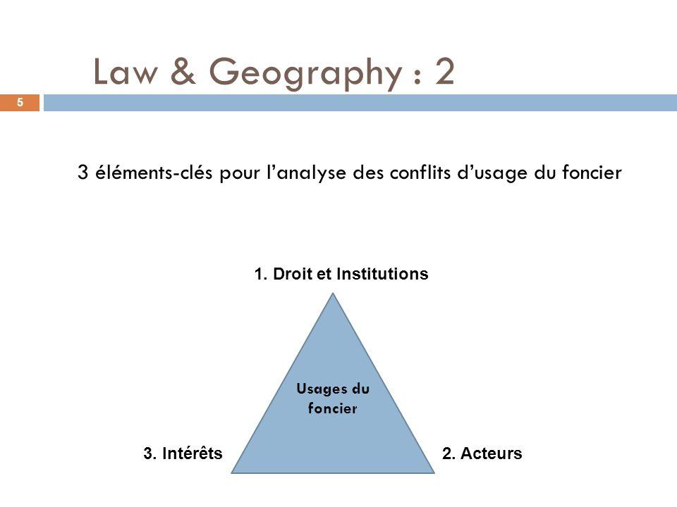 3 éléments-clés pour l'analyse des conflits d'usage du foncier