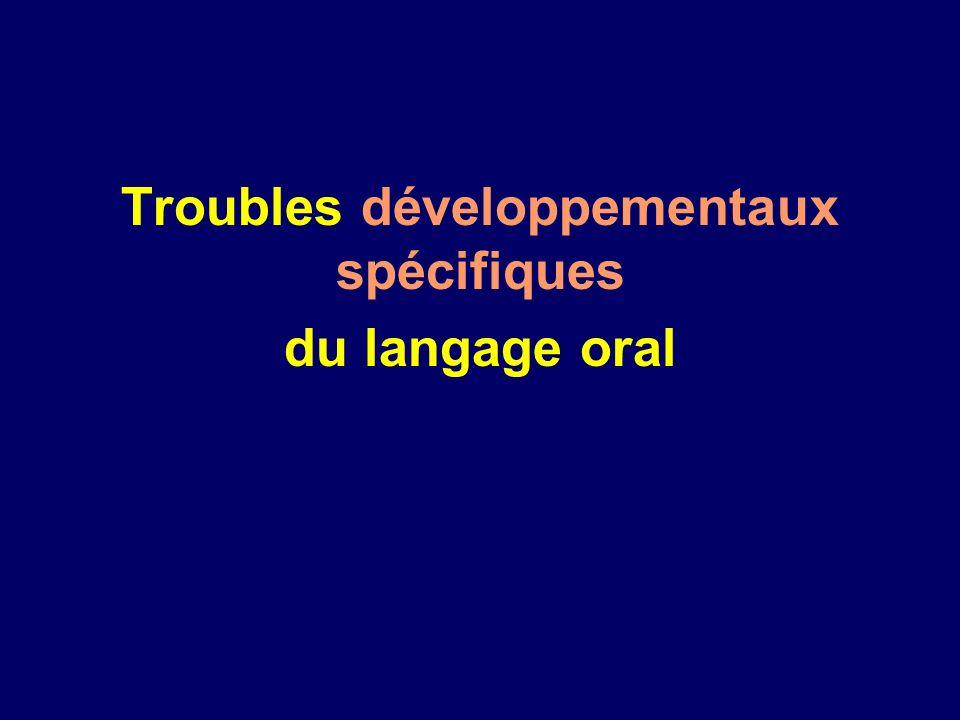 Troubles développementaux spécifiques