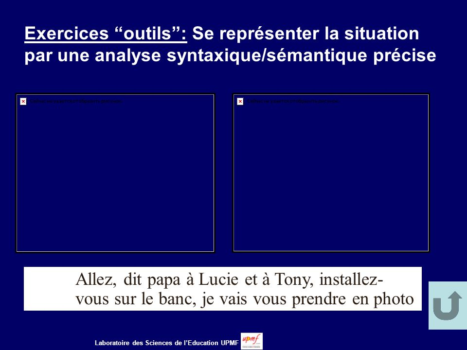 Exercices outils : Se représenter la situation par une analyse syntaxique/sémantique précise