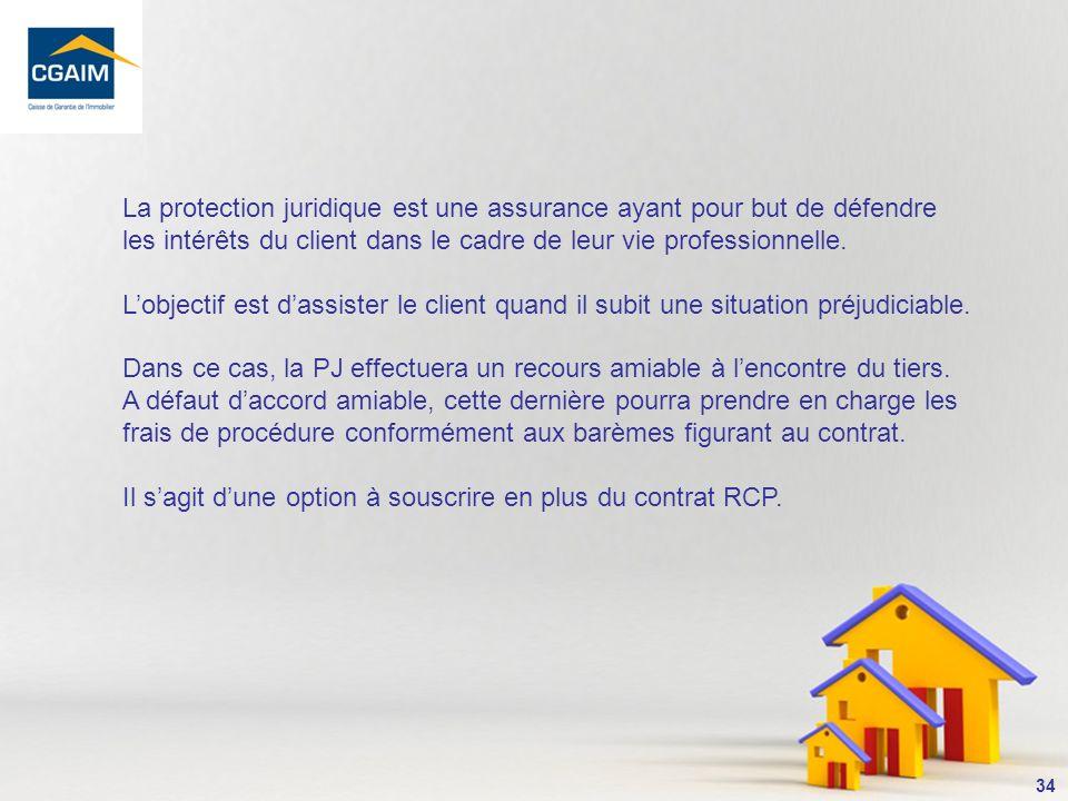 La protection juridique est une assurance ayant pour but de défendre les intérêts du client dans le cadre de leur vie professionnelle.