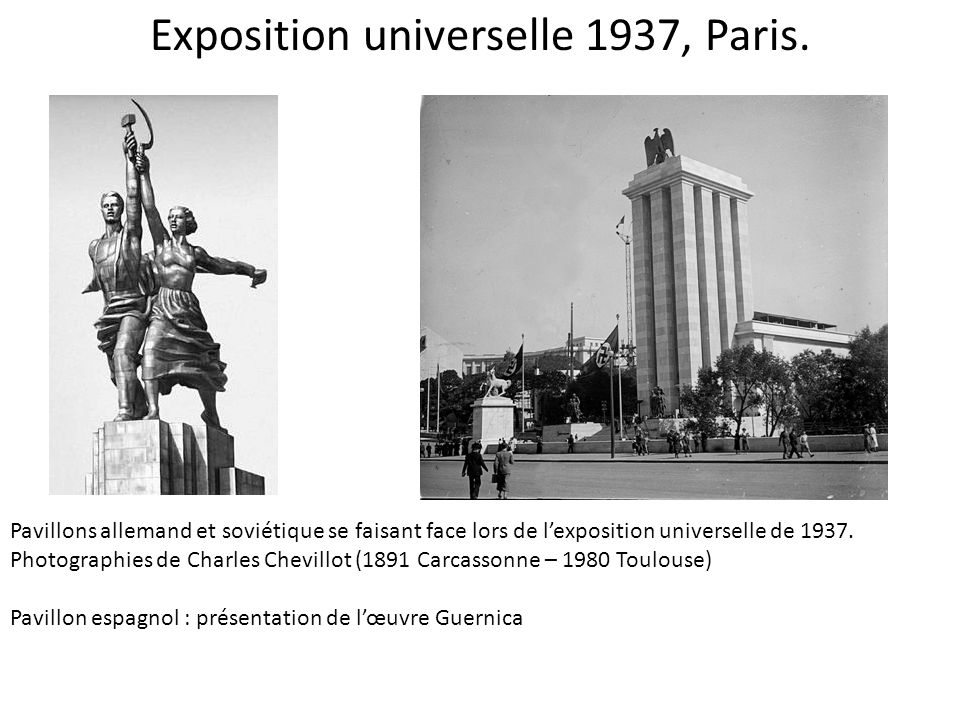 Exposition universelle 1937, Paris.