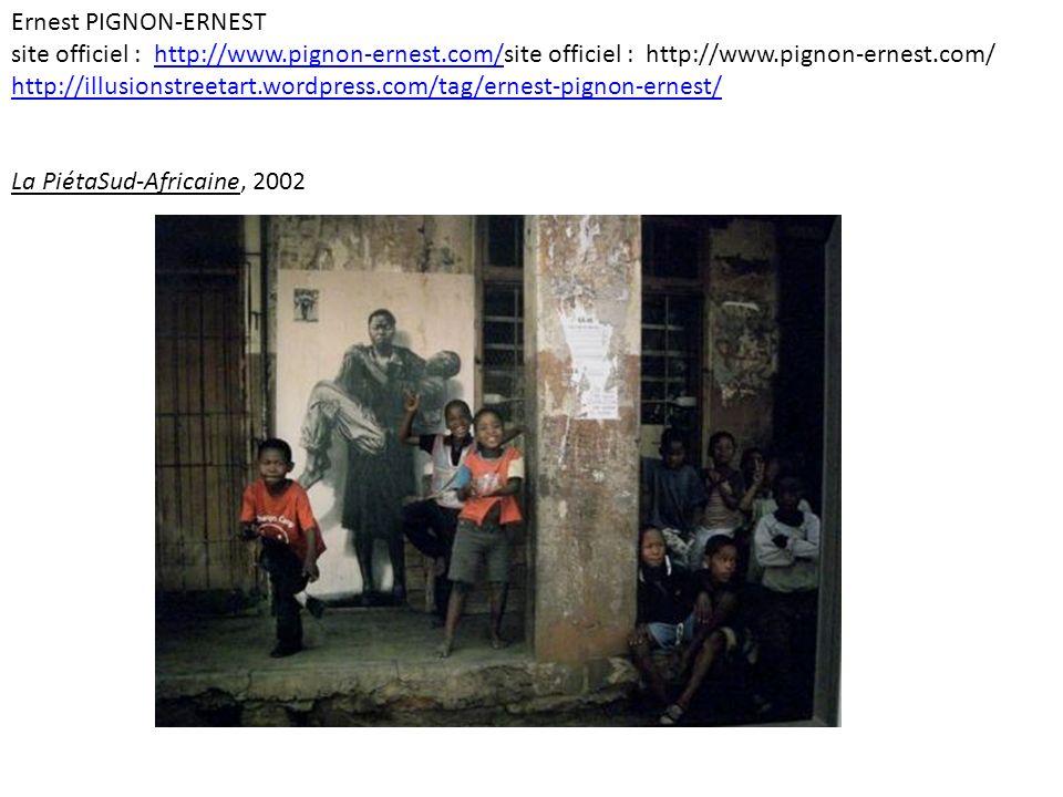 Ernest PIGNON-ERNEST site officiel : http://www. pignon-ernest