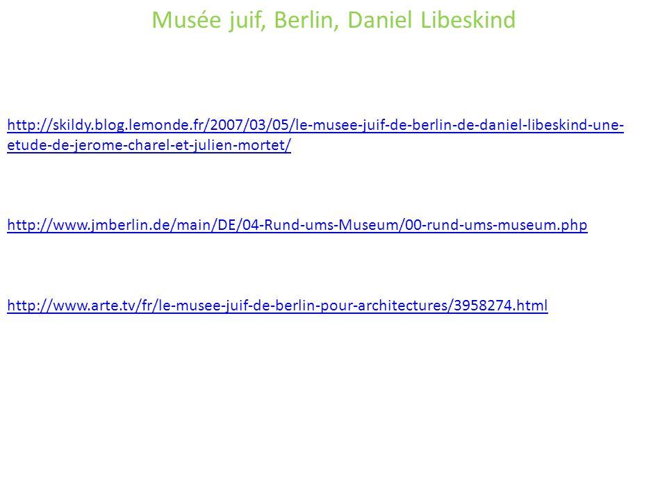 Musée juif, Berlin, Daniel Libeskind