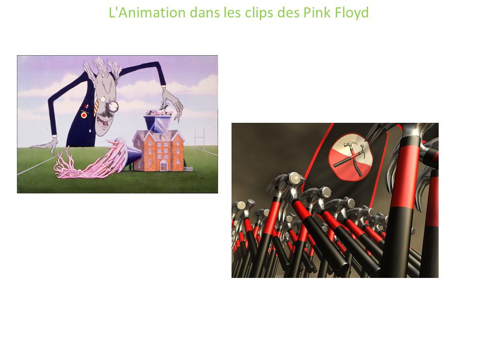 L Animation dans les clips des Pink Floyd
