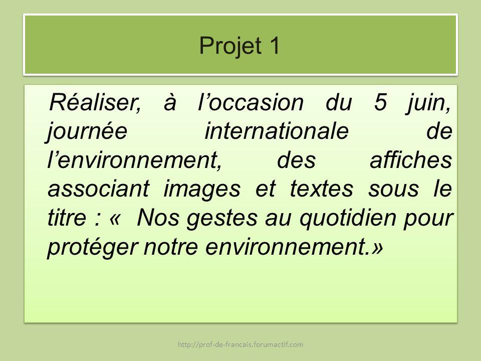 Projet 1