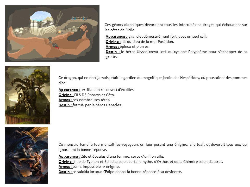 Diaporama sur les personnages de la mythologie grecque - Les pommes d or du jardin des hesperides ...