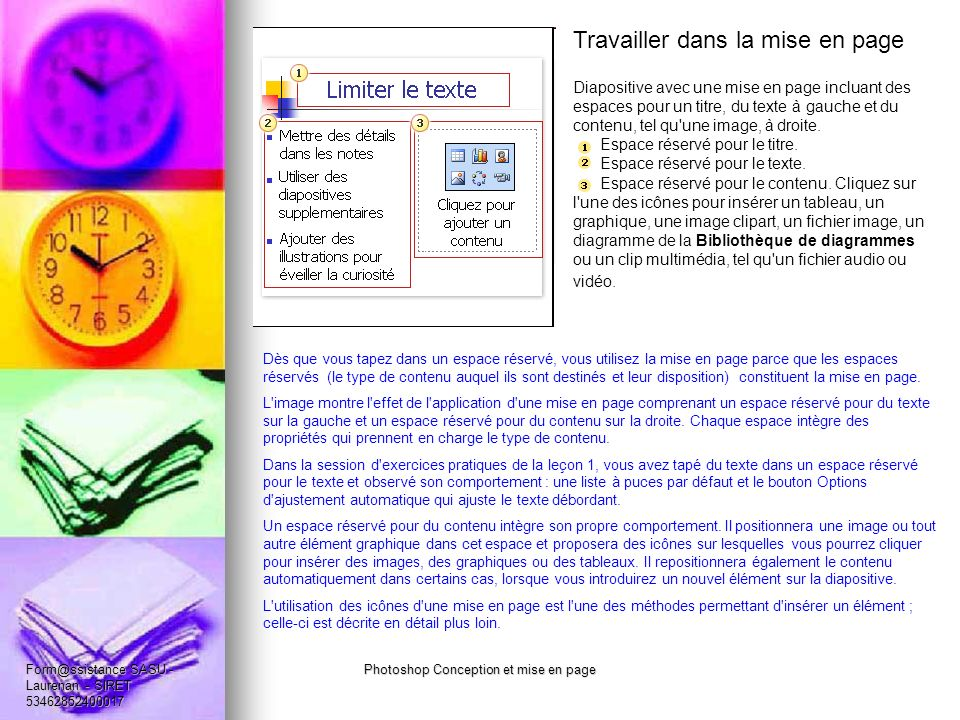 Photoshop Conception et mise en page