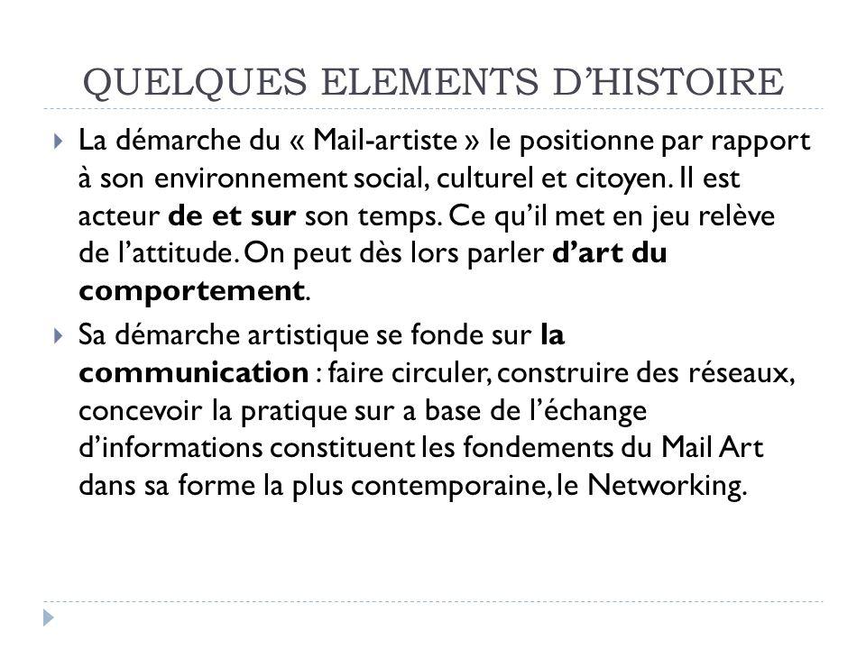 QUELQUES ELEMENTS D'HISTOIRE