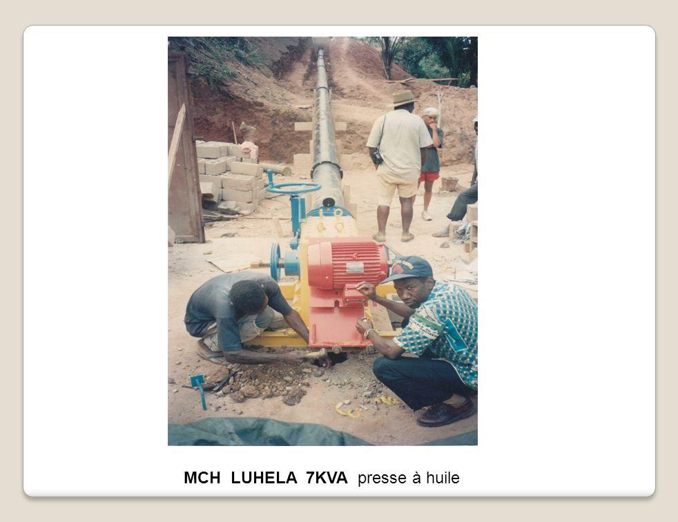 MCH LUHELA 7KVA presse à huile