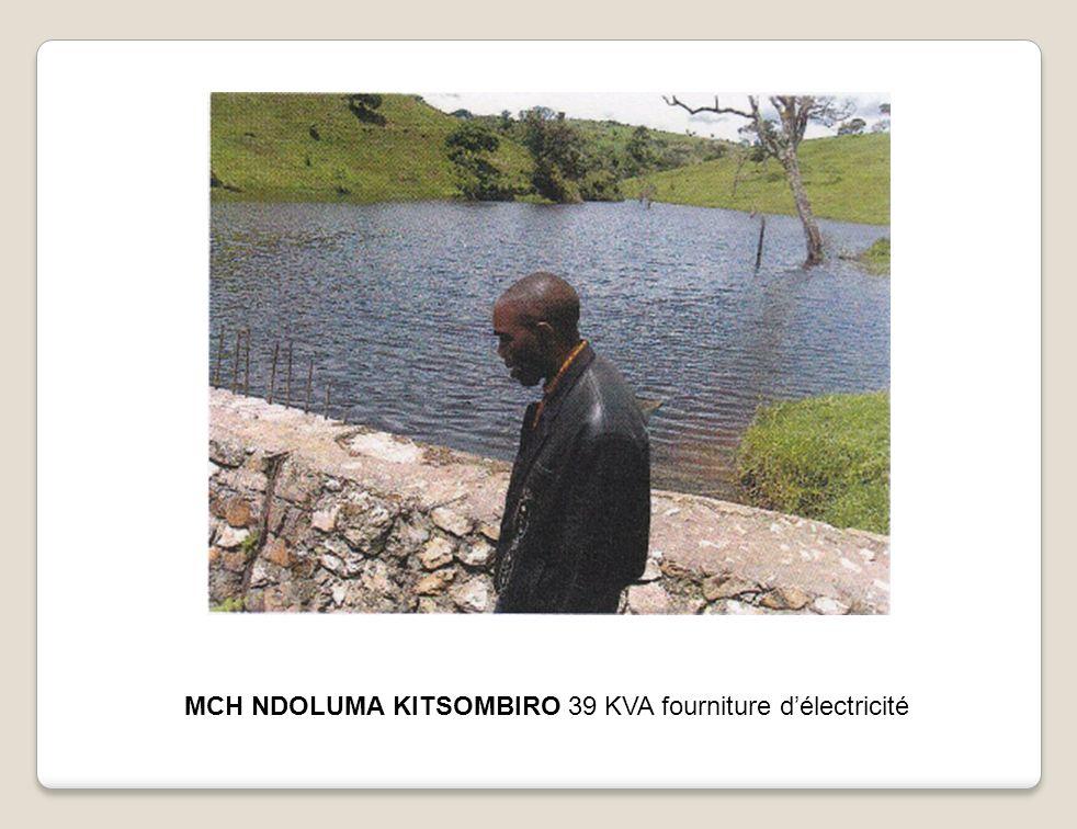MCH NDOLUMA KITSOMBIRO 39 KVA fourniture d'électricité