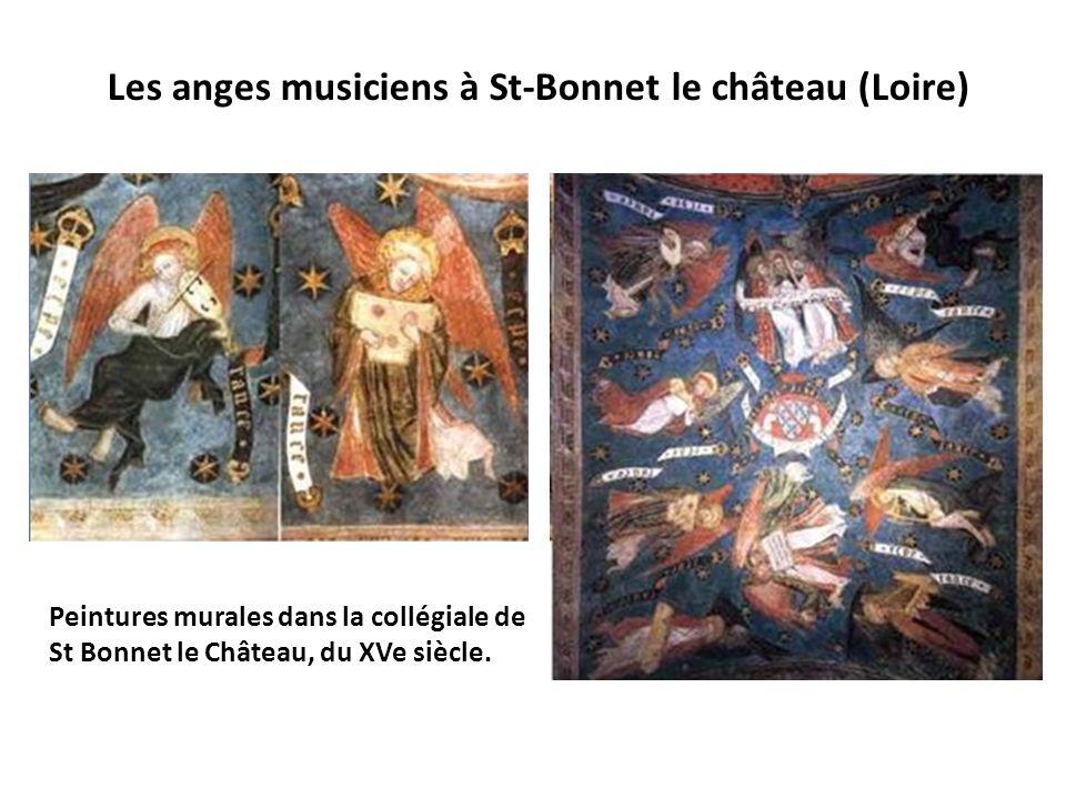 Les anges musiciens à St-Bonnet le château (Loire)