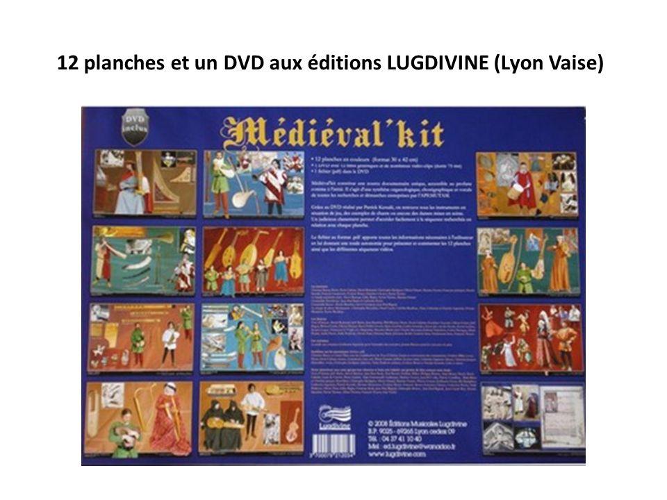 12 planches et un DVD aux éditions LUGDIVINE (Lyon Vaise)
