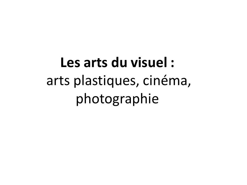 arts plastiques, cinéma, photographie