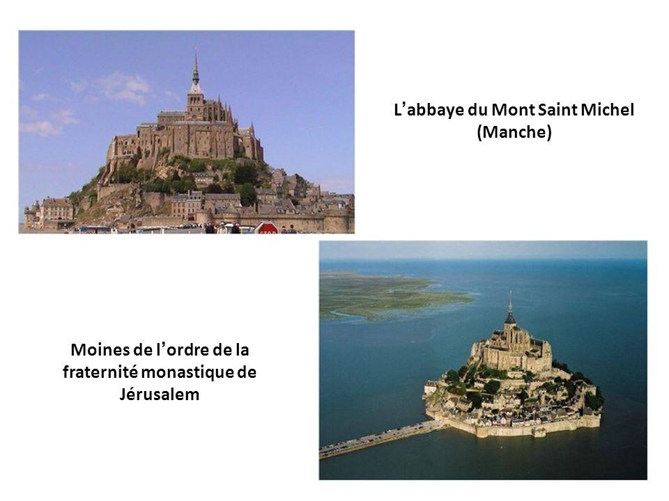L'abbaye du Mont Saint Michel (Manche)