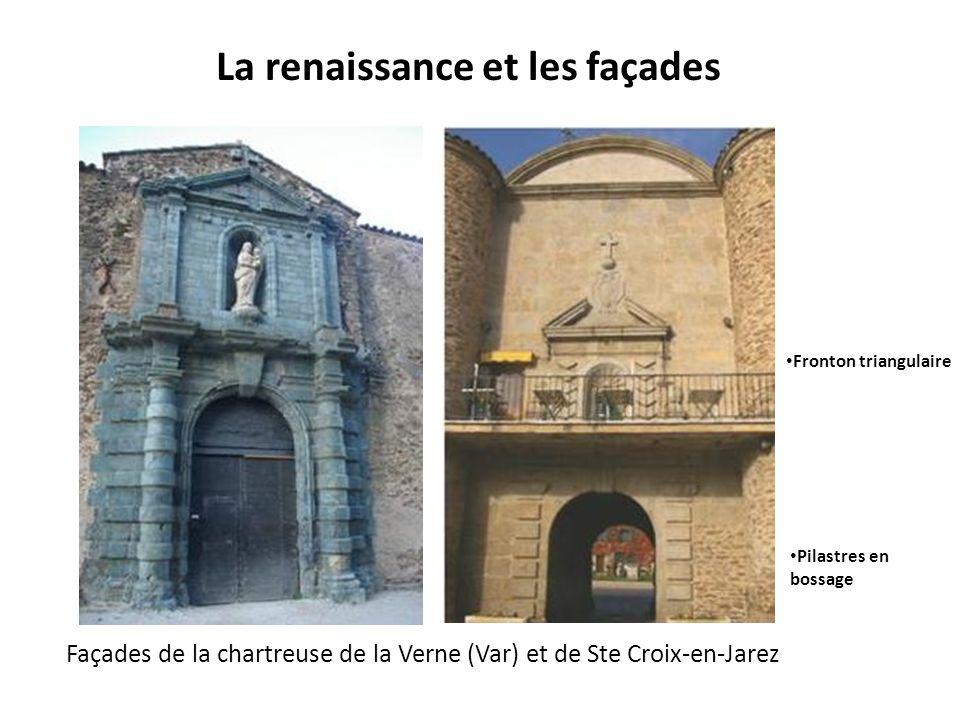 La renaissance et les façades