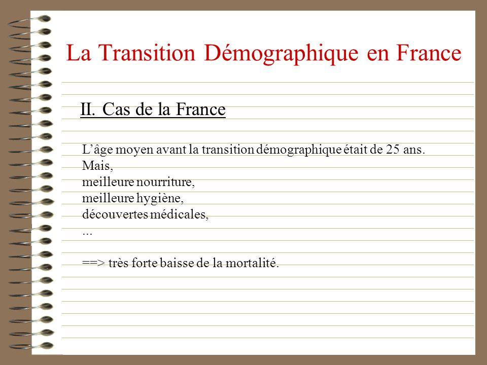 La Transition Démographique en France