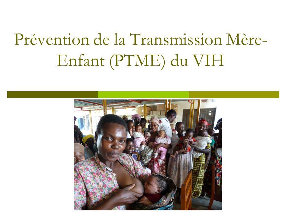 Prévention de la Transmission Mère-Enfant (PTME) du VIH