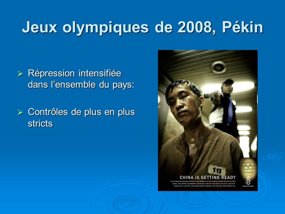 Jeux olympiques de 2008, Pékin
