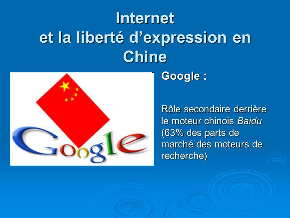 Internet et la liberté d'expression en Chine
