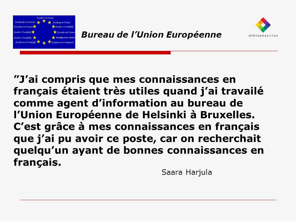 Bureau de l'Union Européenne