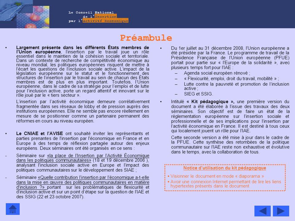 Notice d'utilisation du kit pédagogique