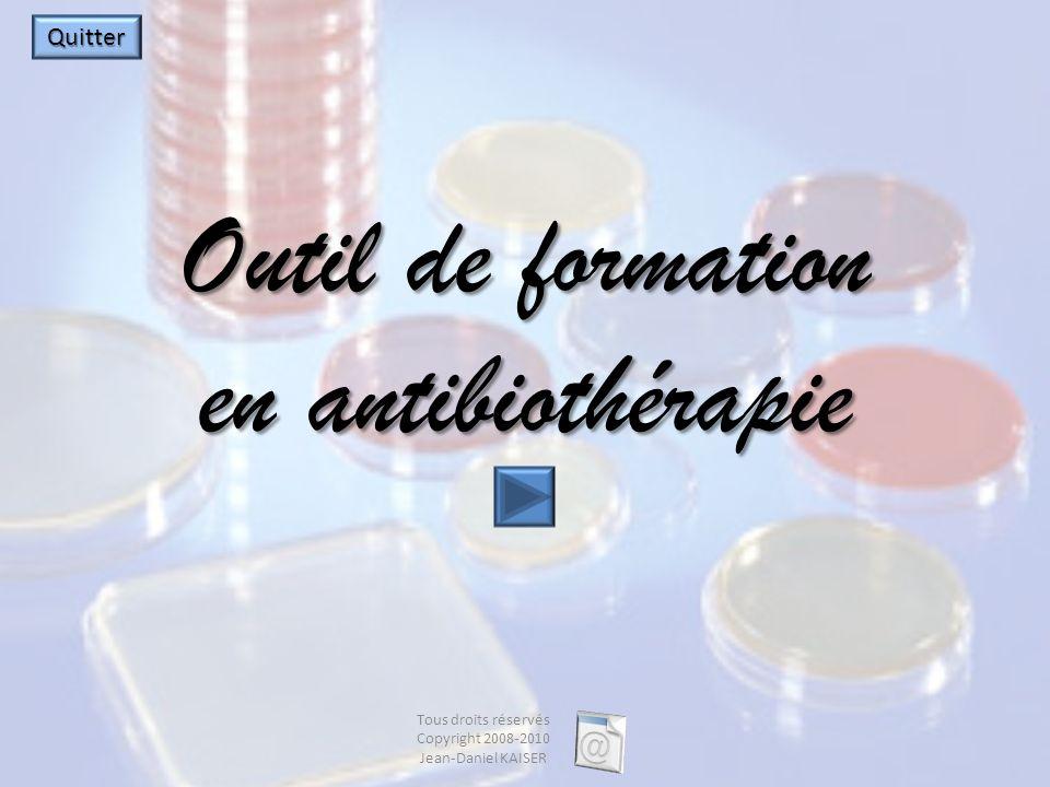 Outil de formation en antibiothérapie