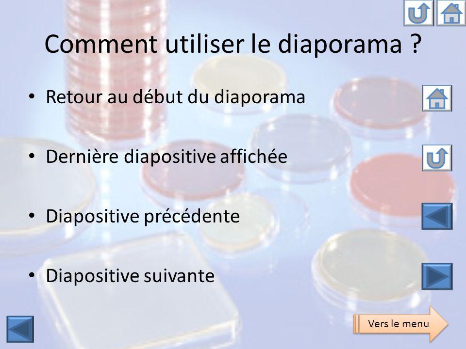 Comment utiliser le diaporama