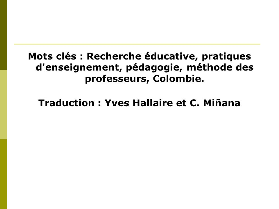 Traduction : Yves Hallaire et C. Miñana