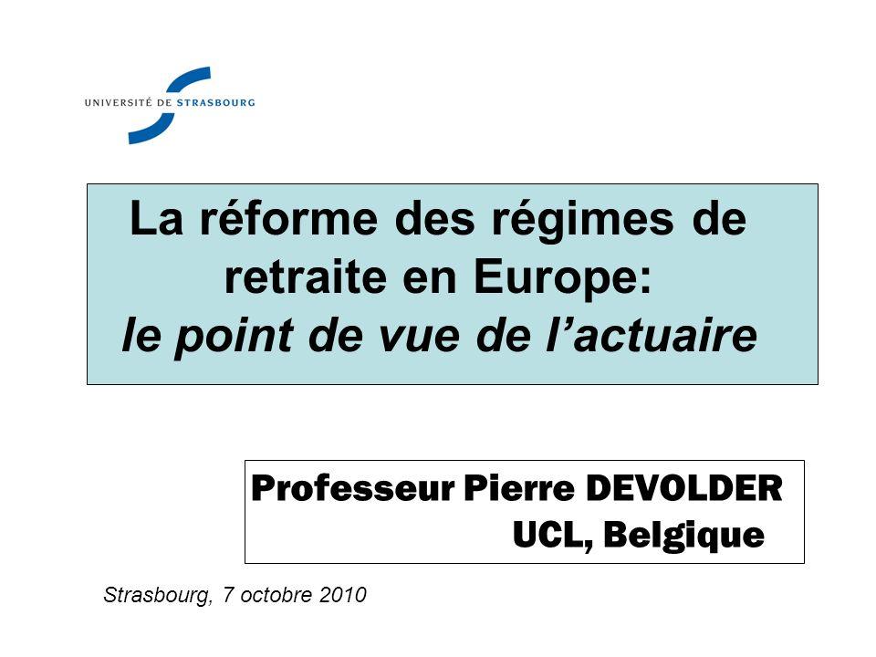 Professeur Pierre DEVOLDER UCL, Belgique