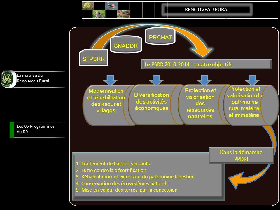 Le PSRR 2010-2014 - quatre objectifs