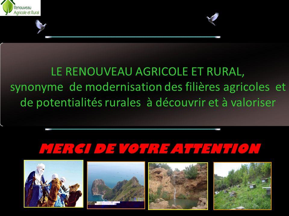 LE RENOUVEAU AGRICOLE ET RURAL,