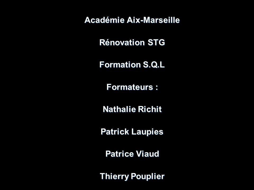 Académie Aix-Marseille