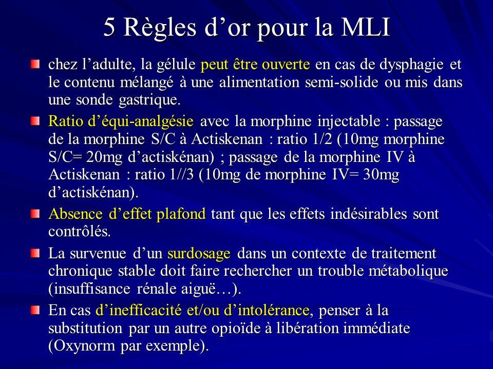 5 Règles d'or pour la MLI