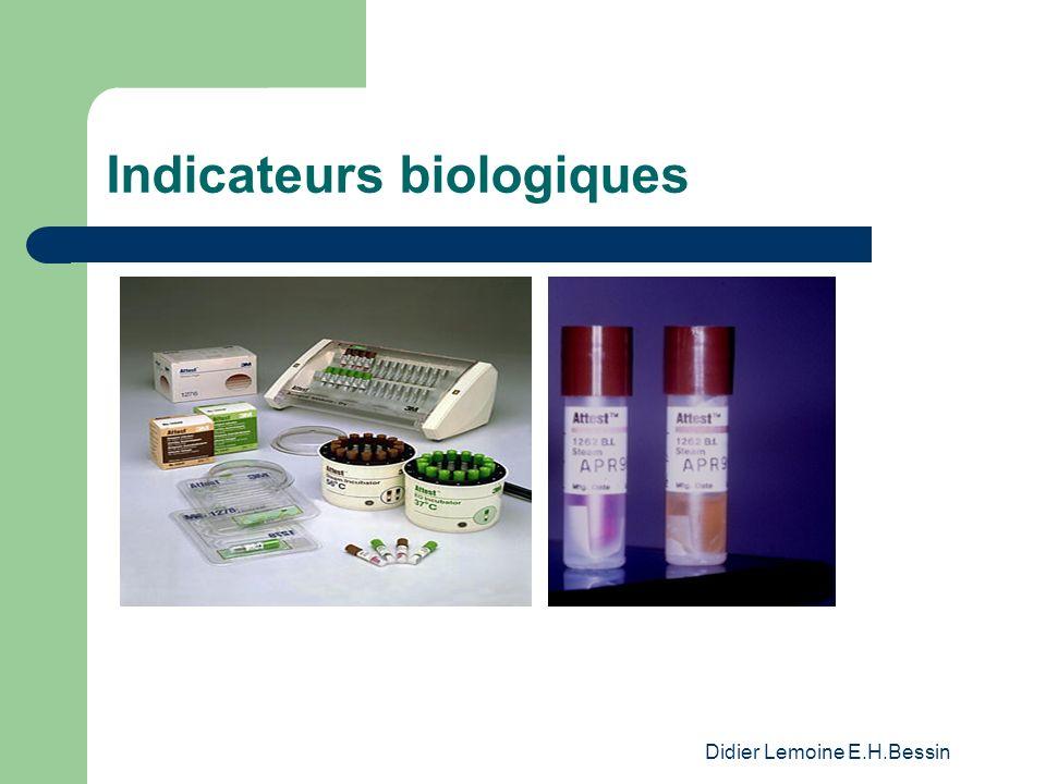 Indicateurs biologiques