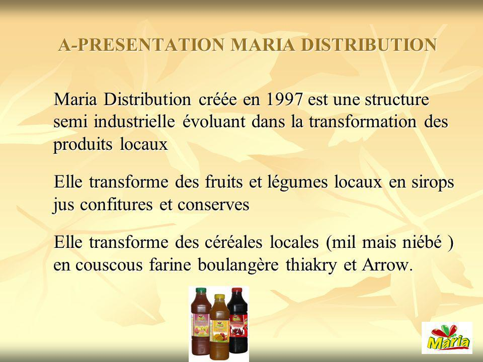 A-PRESENTATION MARIA DISTRIBUTION