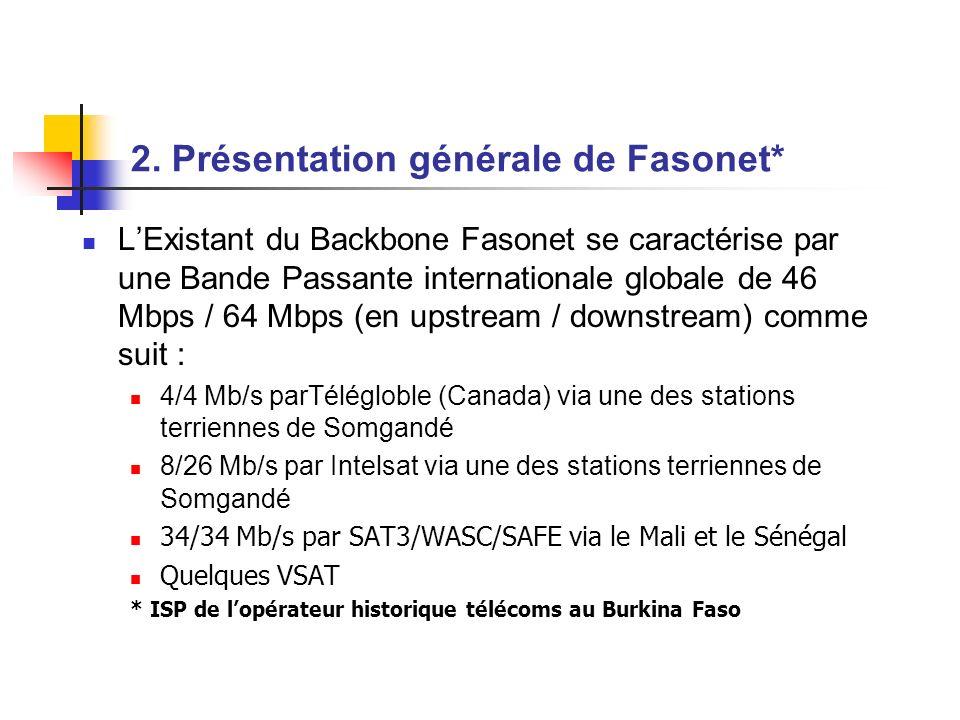 2. Présentation générale de Fasonet*