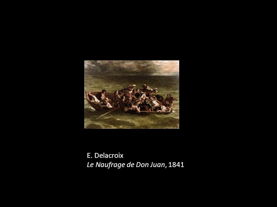 E. Delacroix Le Naufrage de Don Juan, 1841