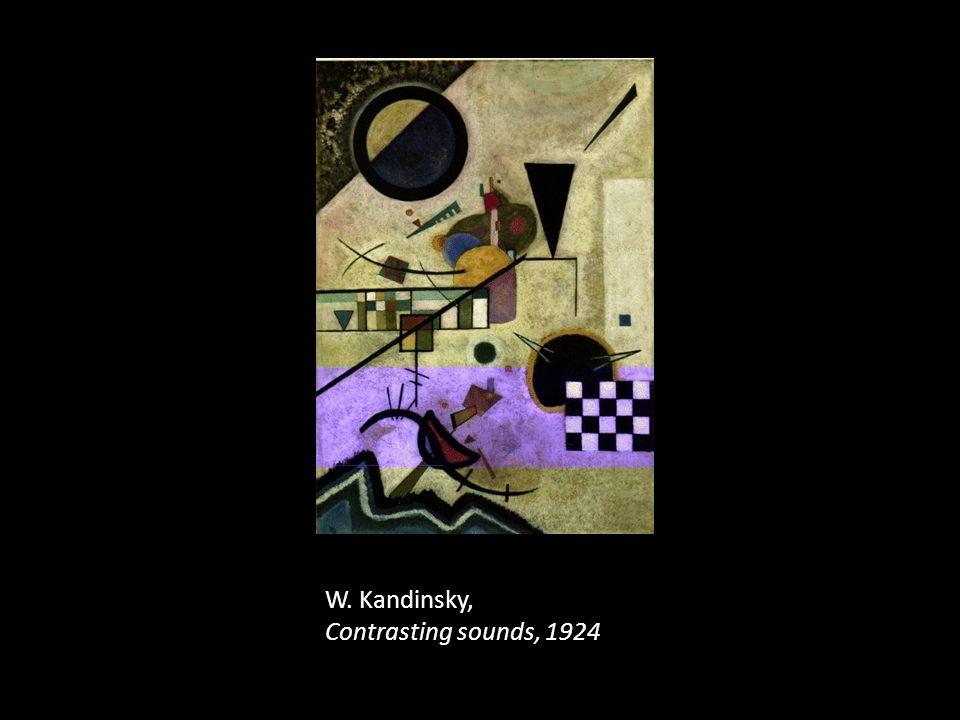W. Kandinsky, Contrasting sounds, 1924
