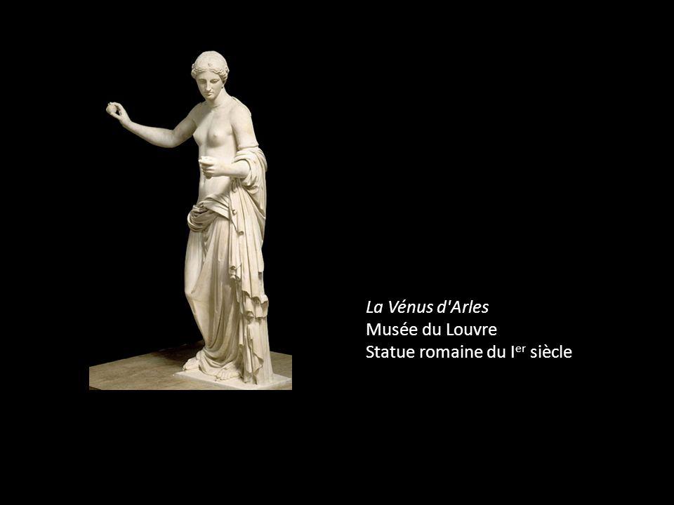 La Vénus d Arles Musée du Louvre Statue romaine du Ier siècle