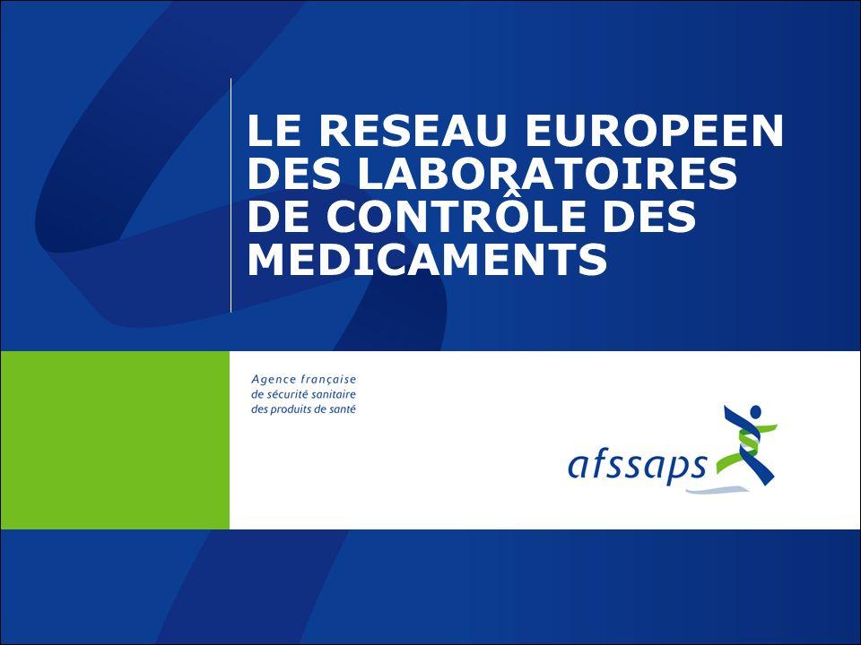 LE RESEAU EUROPEEN DES LABORATOIRES DE CONTRÔLE DES MEDICAMENTS