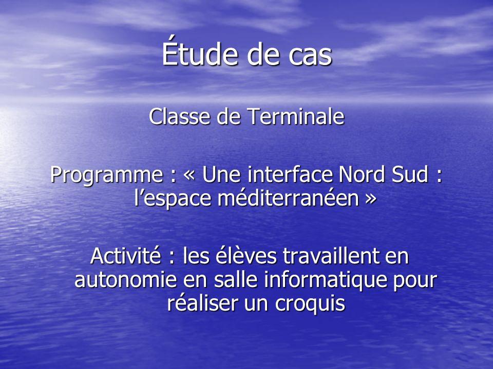 Programme : « Une interface Nord Sud : l'espace méditerranéen »